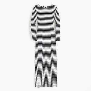 J. Crew Collection Striped Maxi Dress